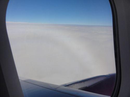 雲上に出た