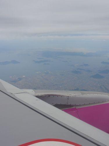 香川上空ぐらい