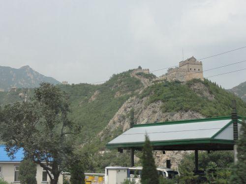 長城の一部