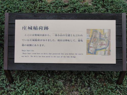 庄城稲荷跡