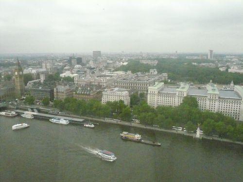 ロンドンが眼下に