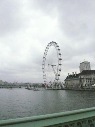 バイバイ London Eye