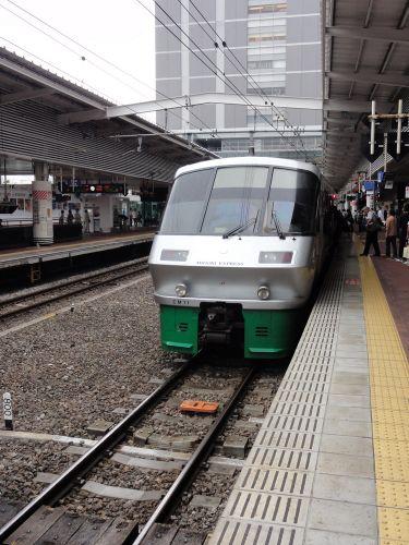見た目は普通の電車です。