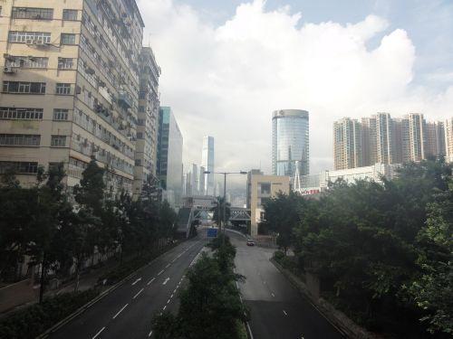 早朝の香港