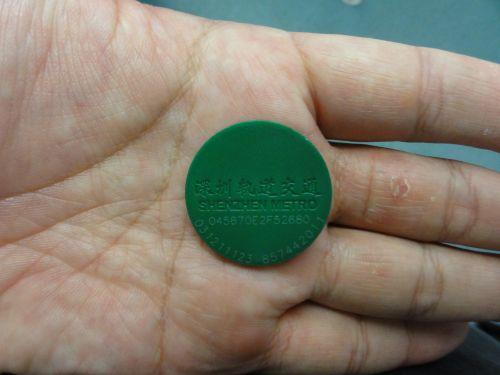 地下鉄メダル