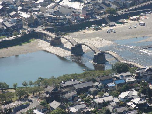 錦帯橋 望遠