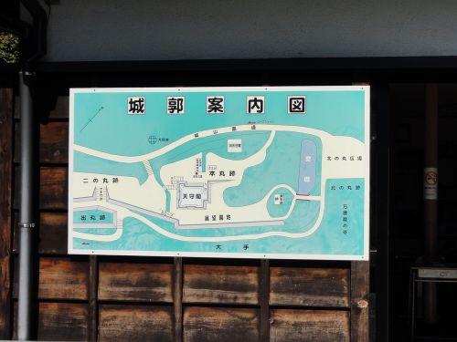 城郭案内図