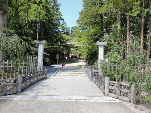 金剛峯寺 入口