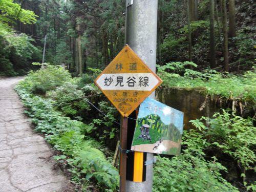 林道 妙見谷線