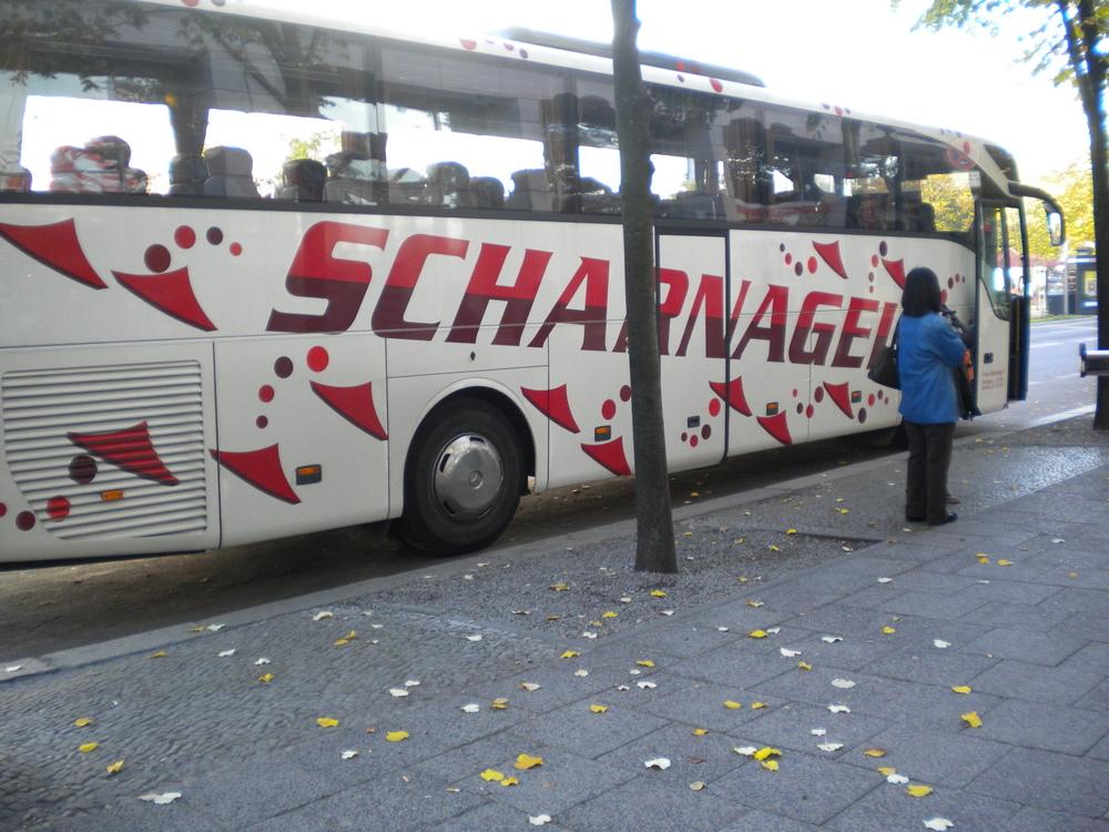 バス出た!