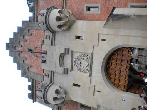 ノイシュヴァンシュタイン城 入口