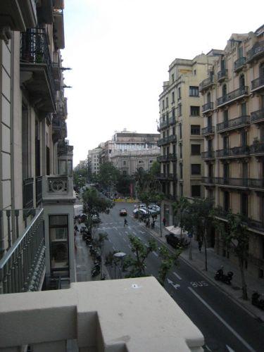 ホテルバルコニー