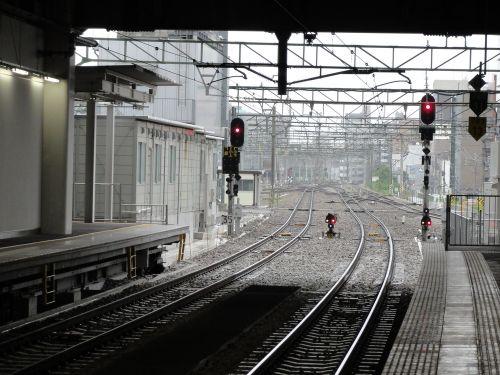 博多駅 ホーム端