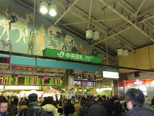 上野駅 中央改札