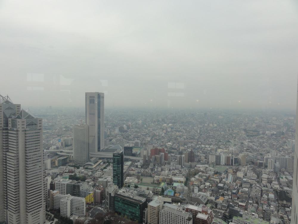 富士山 見えません